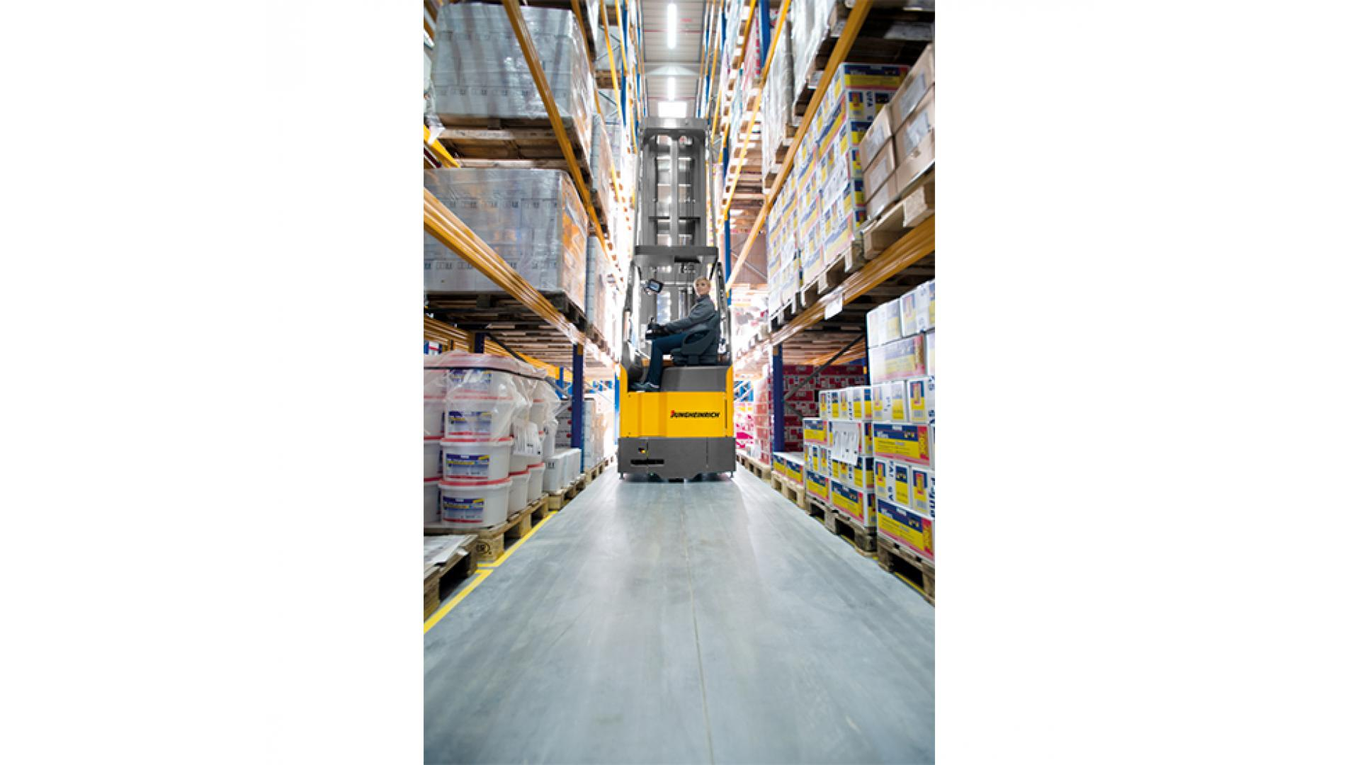Narrow Aisle Forklifts Hire & Sales | NTP Forklifts